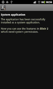 Elixir 2 - System add-on - screenshot