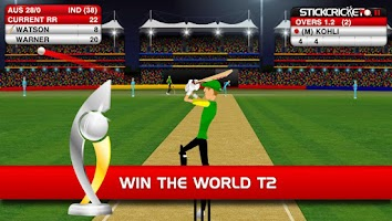 Screenshot of Stick Cricket
