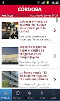 Screenshot of El Diario de Córdoba