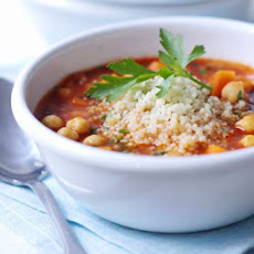 Spiced Tomato & Couscous Soup