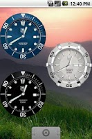Screenshot of TagHeuer Aquaracer Clock
