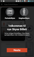 Screenshot of Skyss Billett