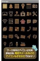 Screenshot of fleurage for[+]HOMEきせかえテーマ