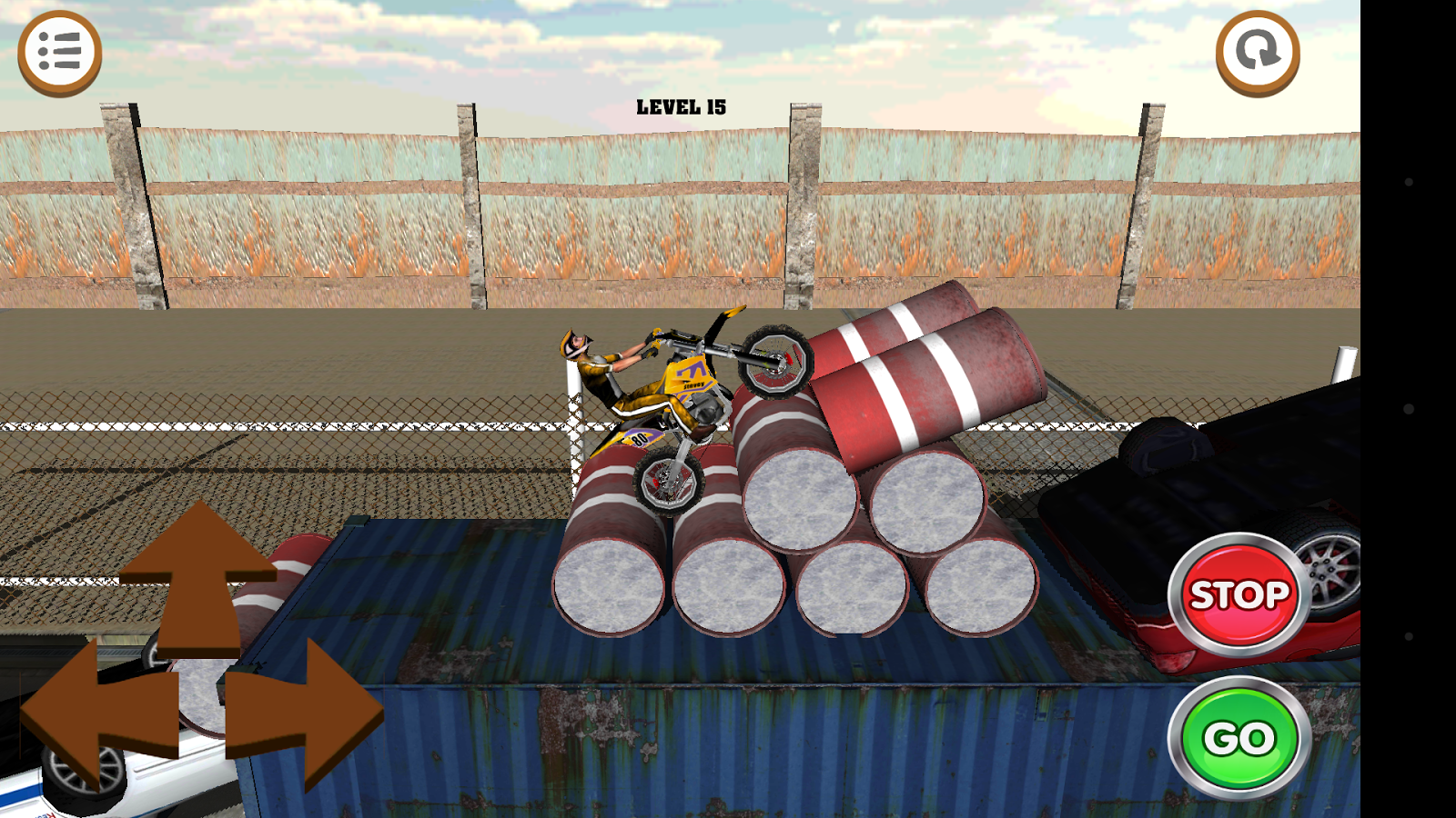 3D Motocross Bike: Industrial Screenshot 14