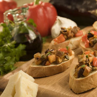 Roasted Caponata Bruschetta