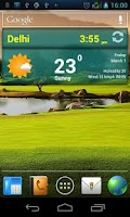 Screenshot of miWeather