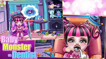 Screenshot of Baby Monster - Dentist