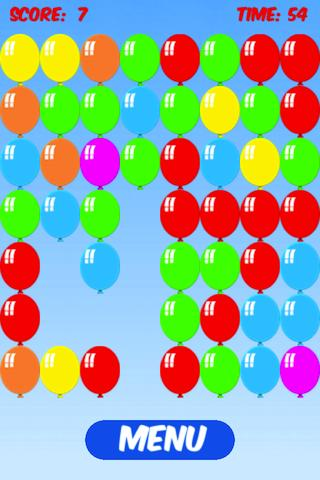 Pop Balloons Burst
