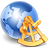 World Distance icon
