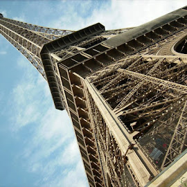Sky Eiffel by Wes Wellborn - Buildings & Architecture Statues & Monuments