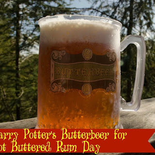 Harry Potter's Butterbeer for Hot Buttered Rum Day