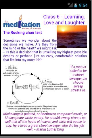 Learn to Meditate 6-10