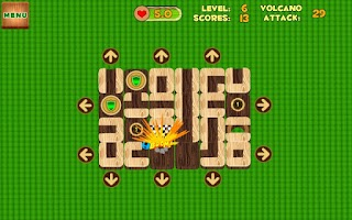 Screenshot of Unblock Maze (Volcano Attack)