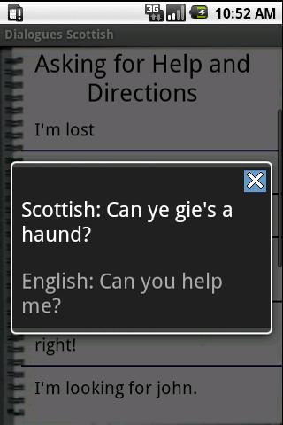 Scottish Dialogues