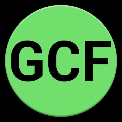 GCF Calculator LOGO-APP點子