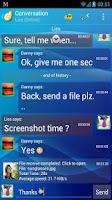 Screenshot of Mercury Messenger (Donate)