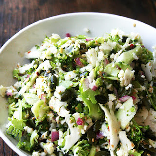 Cauliflower, Broccoli & Sesame Salad