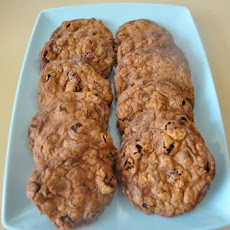 Raisin and Choc-Chip Oat Biscuits / Cookies