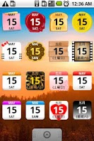 Screenshot of Calendar Widget 2 Lite