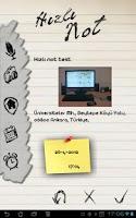 Screenshot of Hızlı Not Tablet