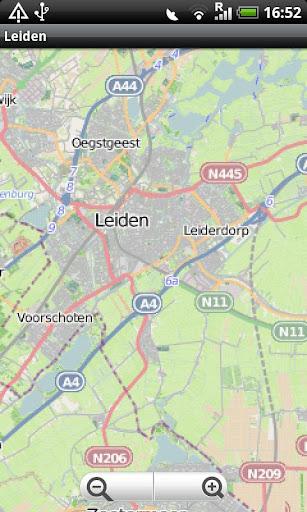 Leiden Street Map