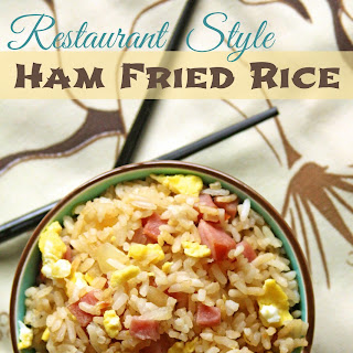 Restaurant Ham Fried Rice
