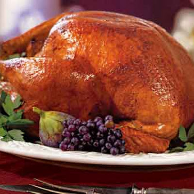 Cider-Basted Turkey with Roasted Apple Gravy
