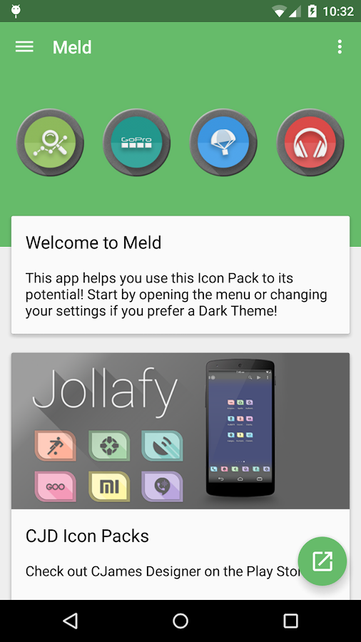 Meld HD Icon Pack Screenshot 1