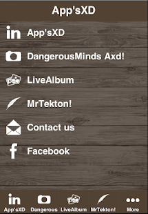 AXD app - screenshot