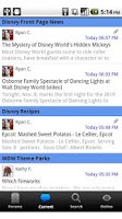 Screenshot of Talk Disney Community