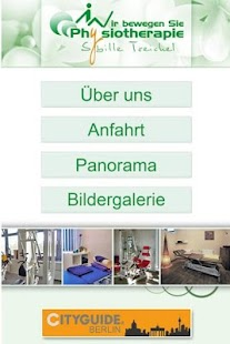 Physiotherapie Treichel - screenshot