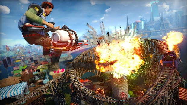 Sunset Overdrive White Xbox One hardware bundle confirmed