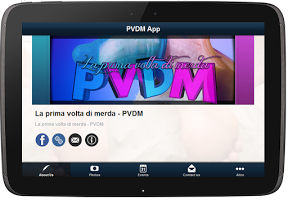 Screenshot of PVDM