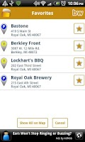 Screenshot of BeerWhere