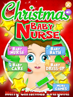 Screenshot of Baby Nurse Christmas Kids Care