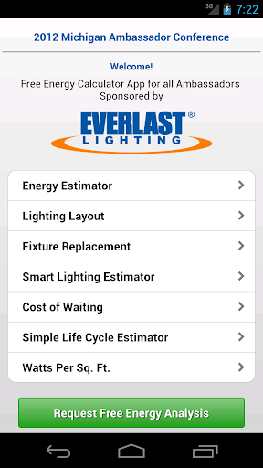 EverLast Lighting Calculator