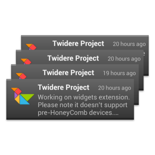 Twidere Home Screen Widgets LOGO-APP點子