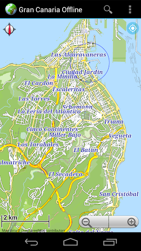 Offline Map Gran Canaria - screenshot