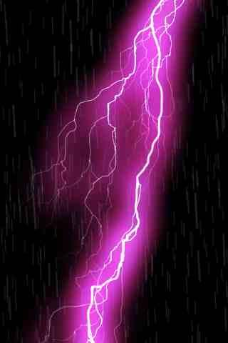 Live Wall: ThunderStorm Pink