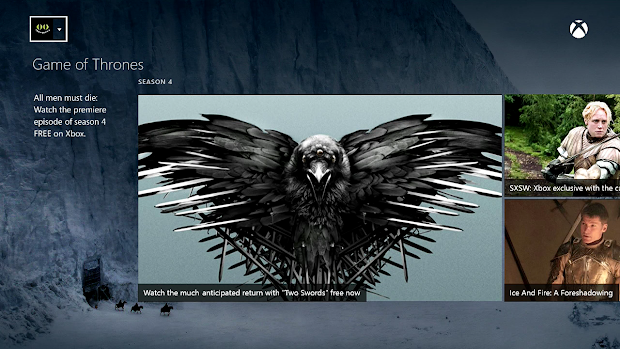 US Xbox gamers to get access to the first episode of the Game Of Thrones Season 4 for free