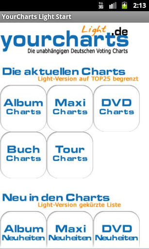 Deutsche Charts YourCharts.de