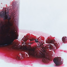 Tart Cranberry-Onion Relish