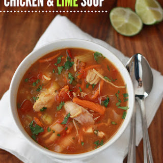 Chicken & Lime Soup (gf, df, paleo, whole30)