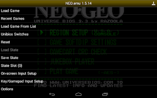 Screenshot of NEO.emu