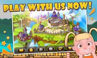 Screenshot of Catapult Saga