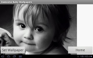 Screenshot of Awesome Baby Wallpapers