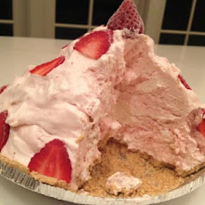 Mile-High Strawberry Pie