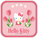 Hello Kitty Tulip Theme icon
