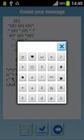 Screenshot of Art Text - Symbol Sms