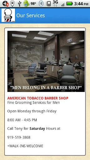 American Tobacco Barber Shop